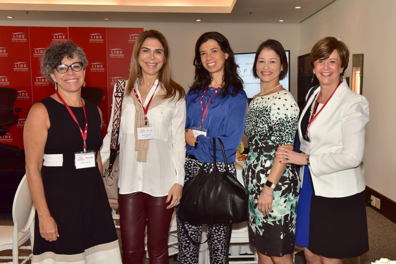 2PJ_0686 Cristina Pinho - Marise Grinstein - Agnes Costa - Ana Zambelli - Anelise Lara
