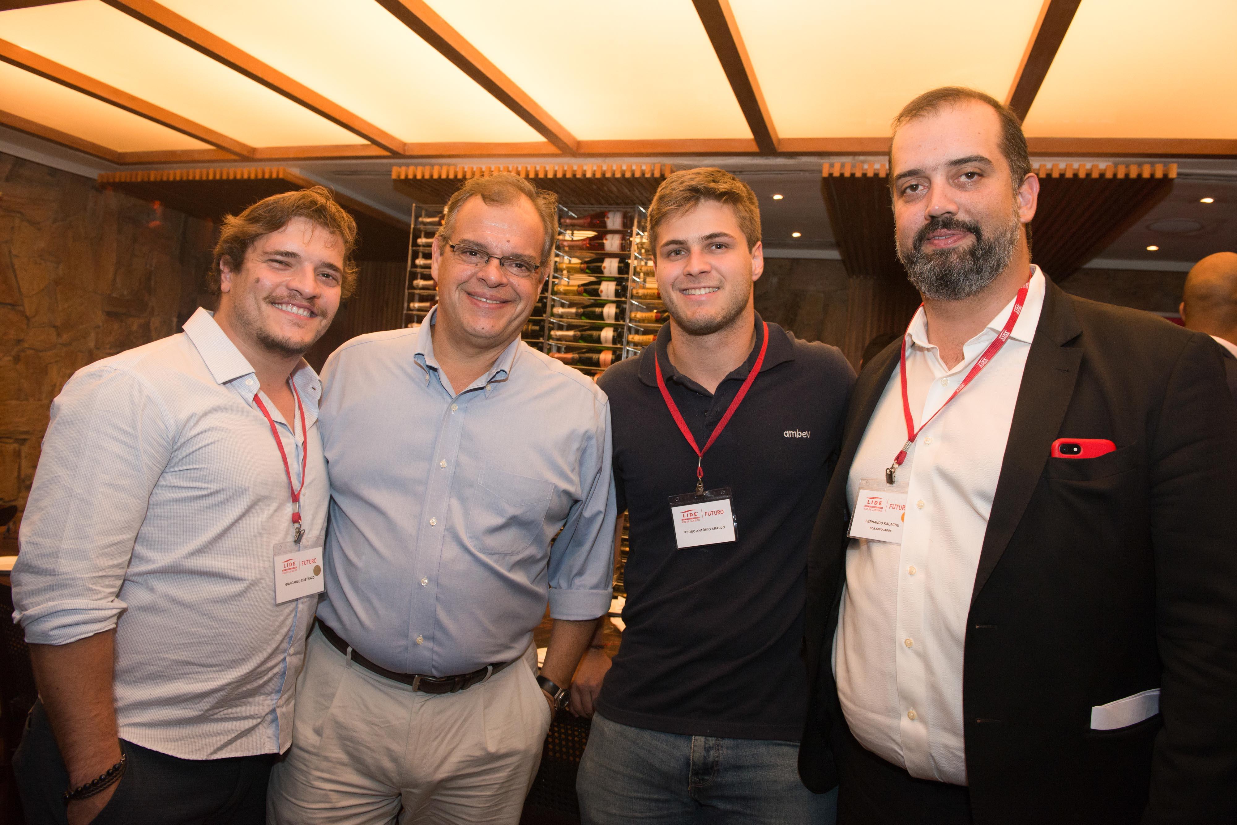 Giancarlo Costanza, Marcelo Torres, Pedro Antonio Araújo, Fernando Kalache