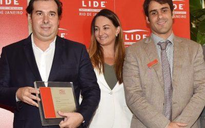 Almoço-debate com Rodrigo Maia, Presidente da Câmara dos Deputados