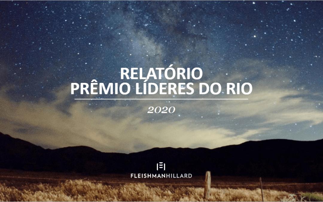 Relatório Prêmio Líderes do Rio